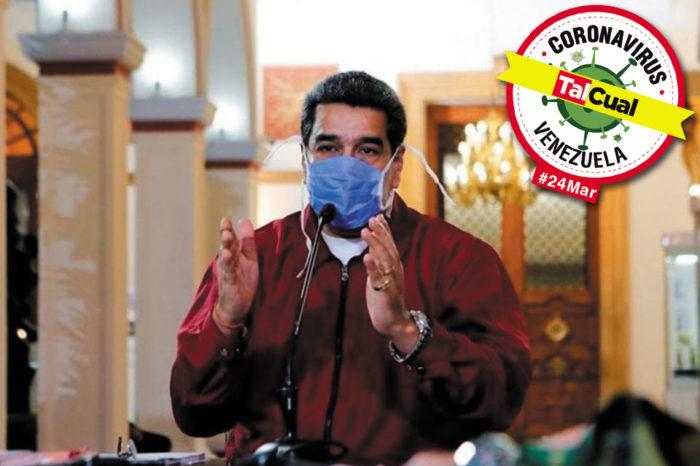 Con inconsistencias en los números, Maduro asegura que hay 91 casos de covid-19