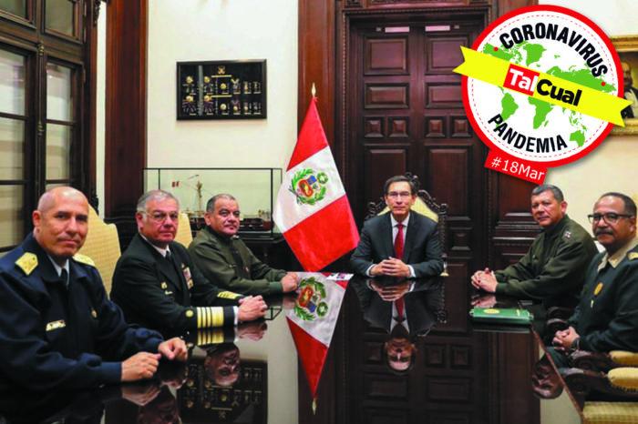 Todo sobre la pandemia l Perú decreta toque de queda para detener avance del covid-19