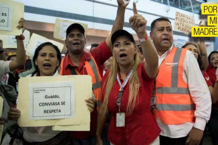 Agresora de Guaidó