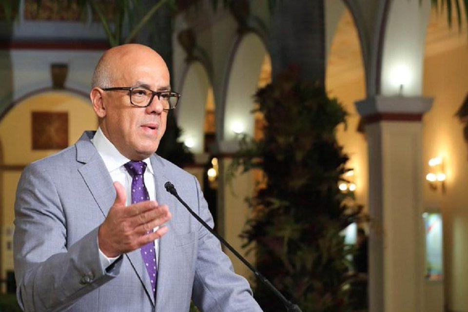 Jorge Rodriguez sobre covid-19