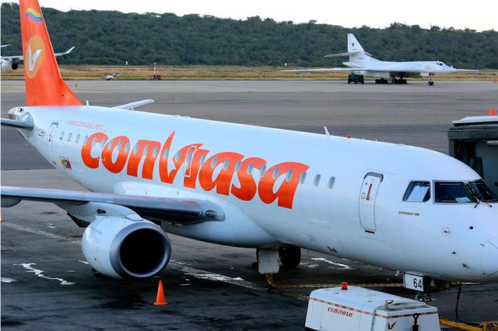 vuelos de repatriación Conviasa