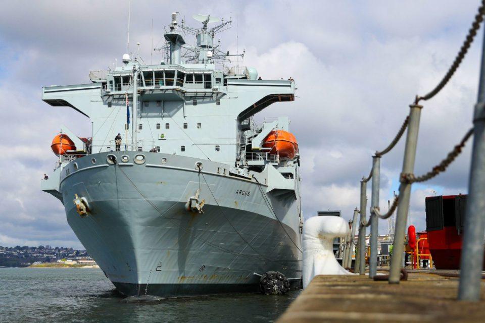 Argus buque Armada