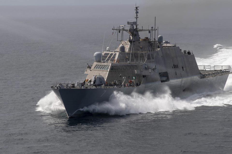buques antidrogas de EEUU en el Caribe