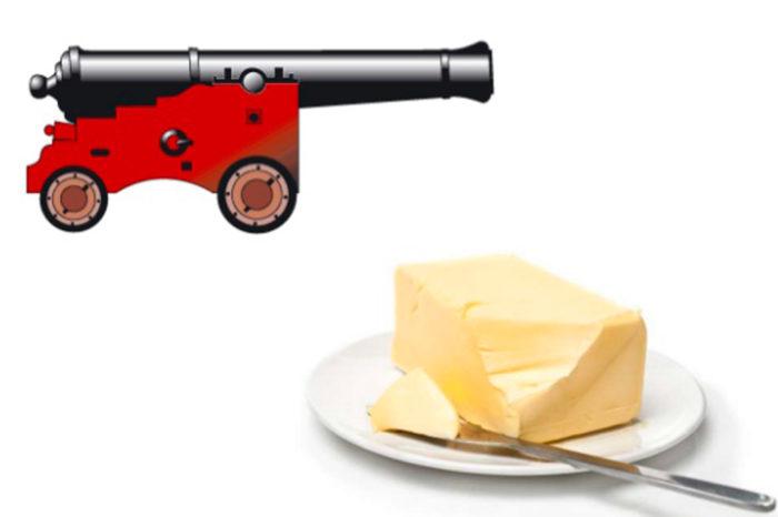 Cañones o mantequilla