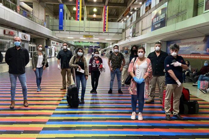 Chile repatriados Venezuela