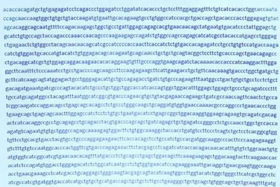 Código genético del SARS-CoV-2