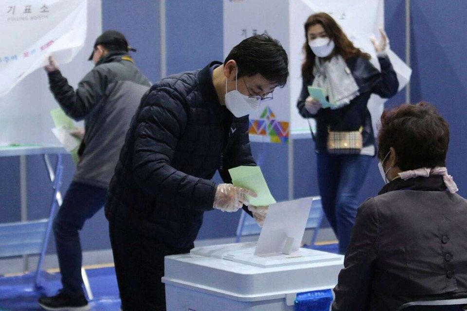 Corea del Sur-elecciones