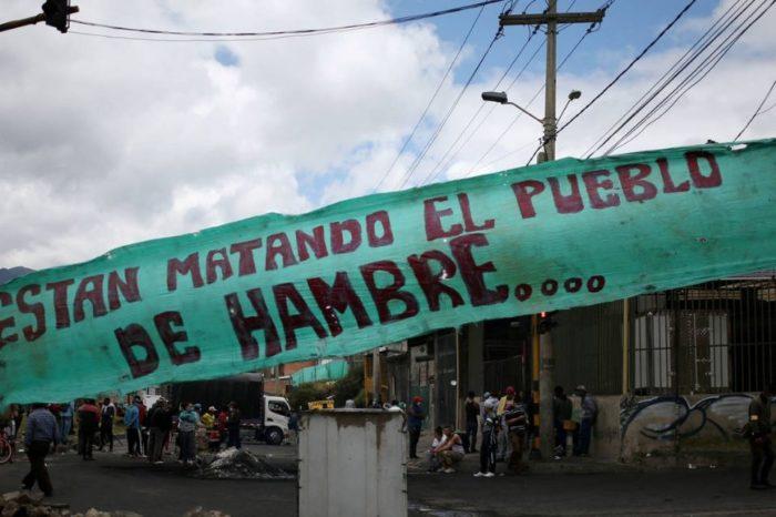 Disturbios en Colombia