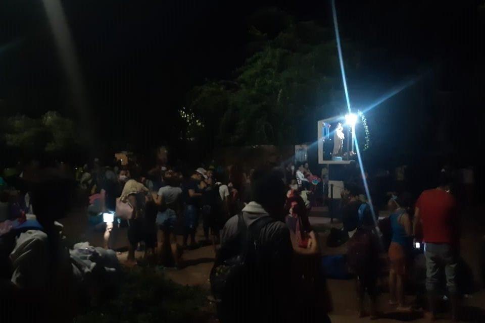 Habitantes de Táchira huyen a Colombia