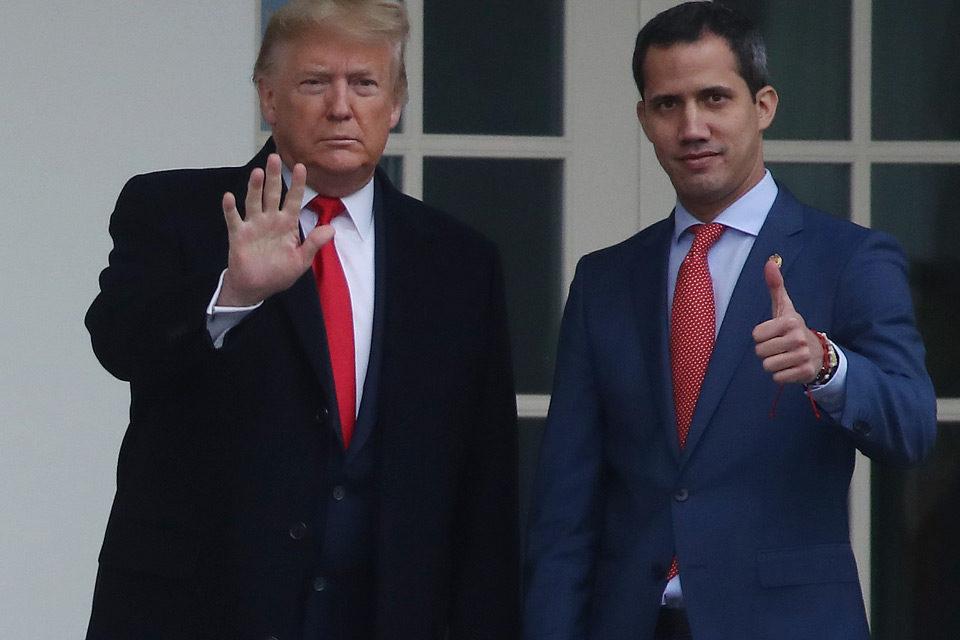 La celada Donald-Trump-y-Juan-Guaidó EEUU