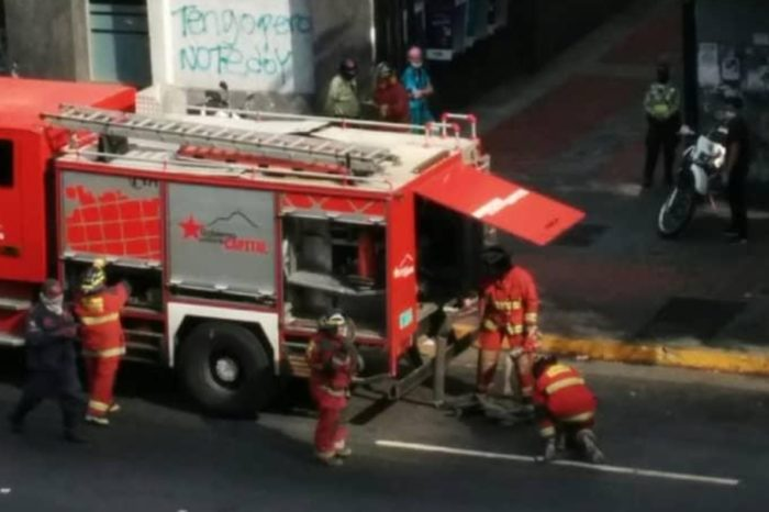 Incendio Cantv Chacao