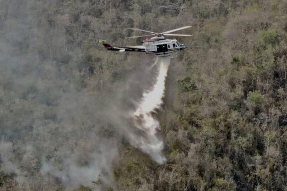 Incendio forestal GN Inparques