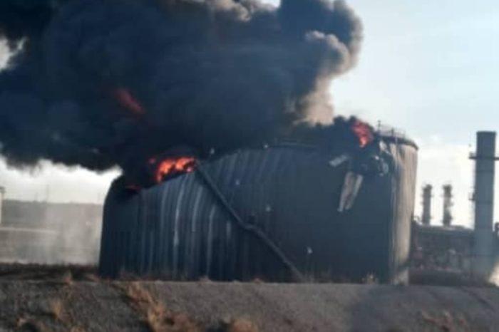Controlado incendio en Petropiar tras explosión en tanque de almacenamiento