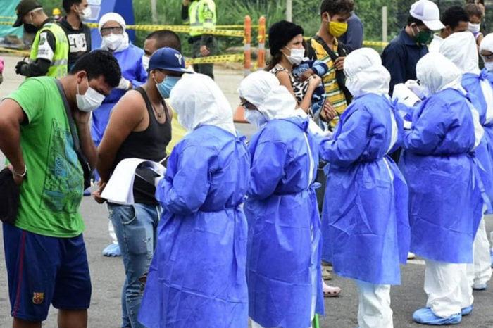 Pandemia-Regreso de Venezolanos