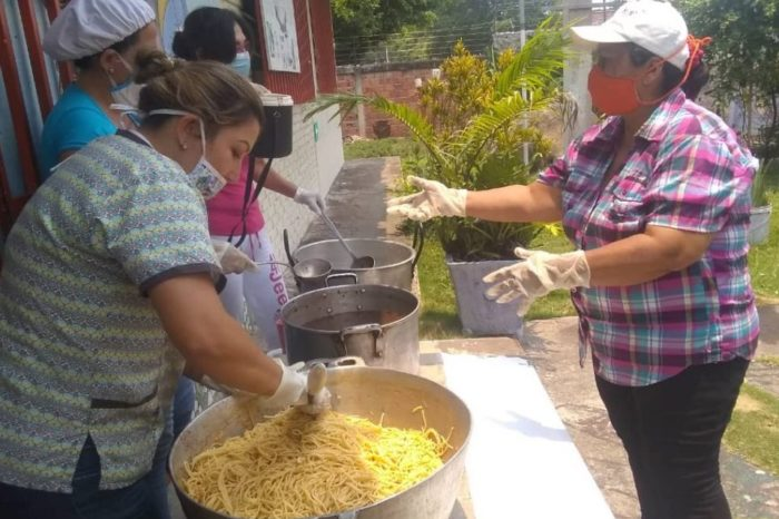 Táchira Puente Real comida comedor