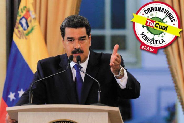 Maduro reporta siete nuevos casos de covid-19 y dos fallecidos