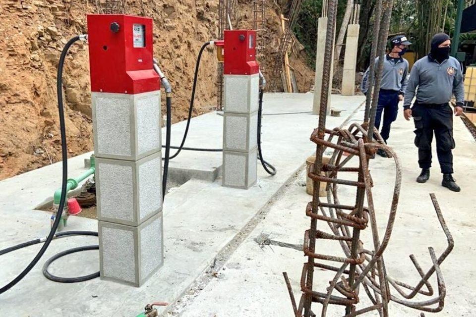 gasolina cuarentena