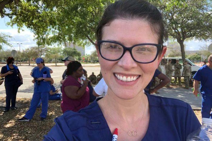Una enfermera venezolana encara al coronavirus en Florida