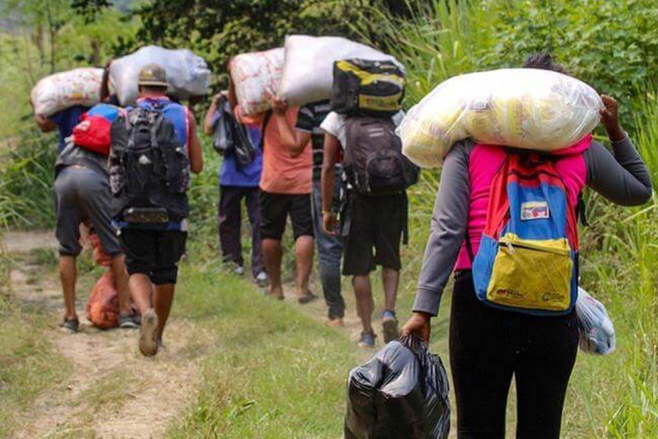 migrantes venezolanos Zulia