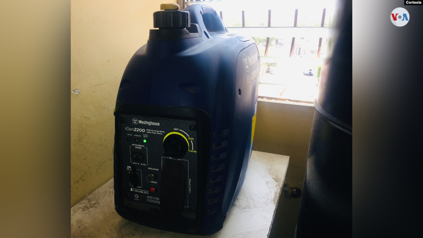 planta generadora gasolina VOA