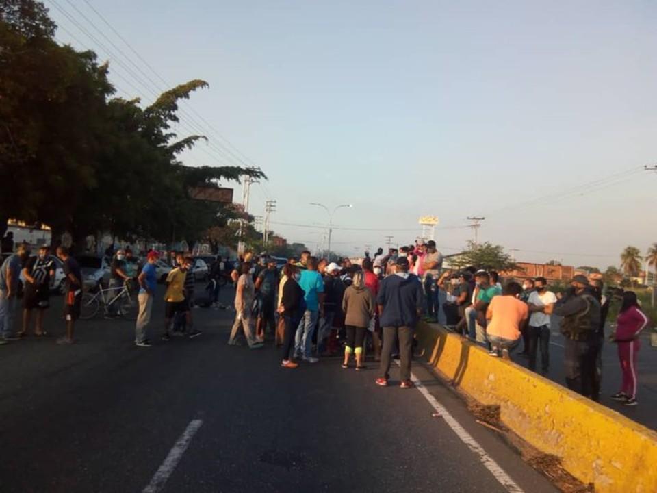 protestas Aviadores Aragua 24.04.2020