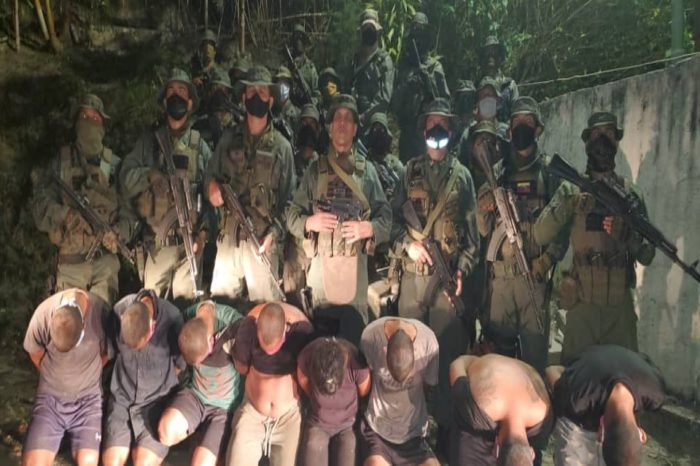 Capturan a ocho presuntos implicados en Operación Gedeón