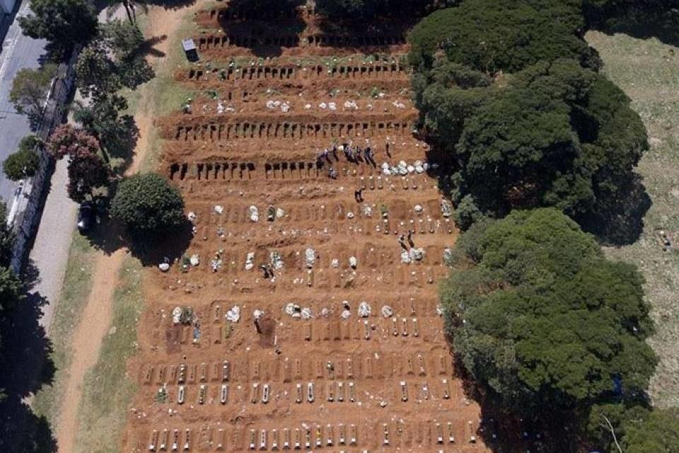 Brasil registró más de mil muertos por coronavirus, según último informe