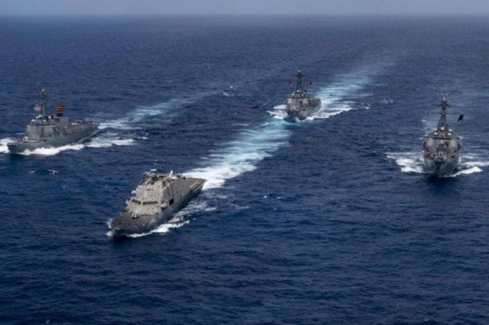 Barcos EEUU Caribe