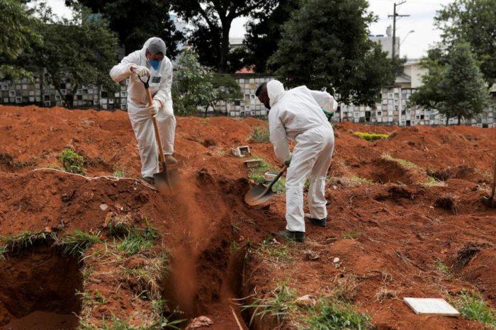 Brasil se convierte en el segundo país del mundo con más muertes por coronavirus