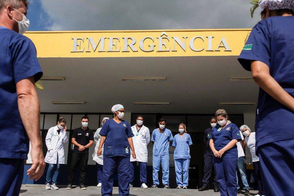 Brasil registró récord de 600 fallecidos por covid-19
