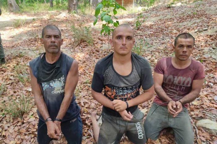 Capturados en El Junquito por Operación Gedeón