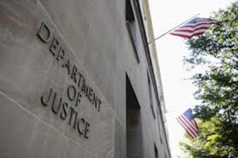 DEPARTAMENTO DE JUSTICIA EEUU
