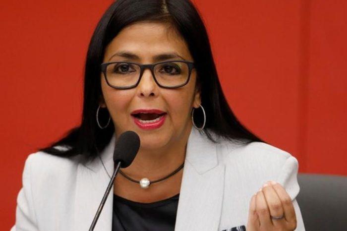 Delcy Rodríguez vacunación
