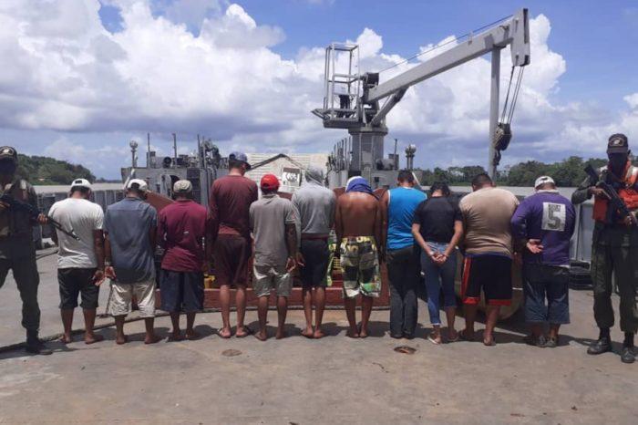 Desarticulan campamentos de trata de personas hacia Trinidad y Tobago