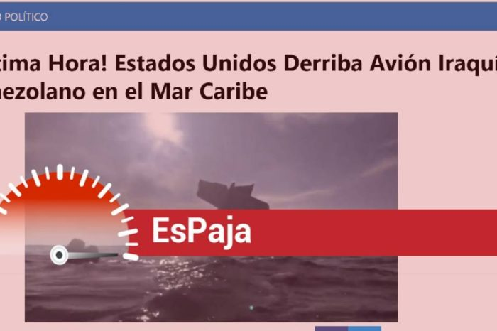 EsPaja | ¿EEUU derribó un avión iraquí que transportaba oro venezolano?