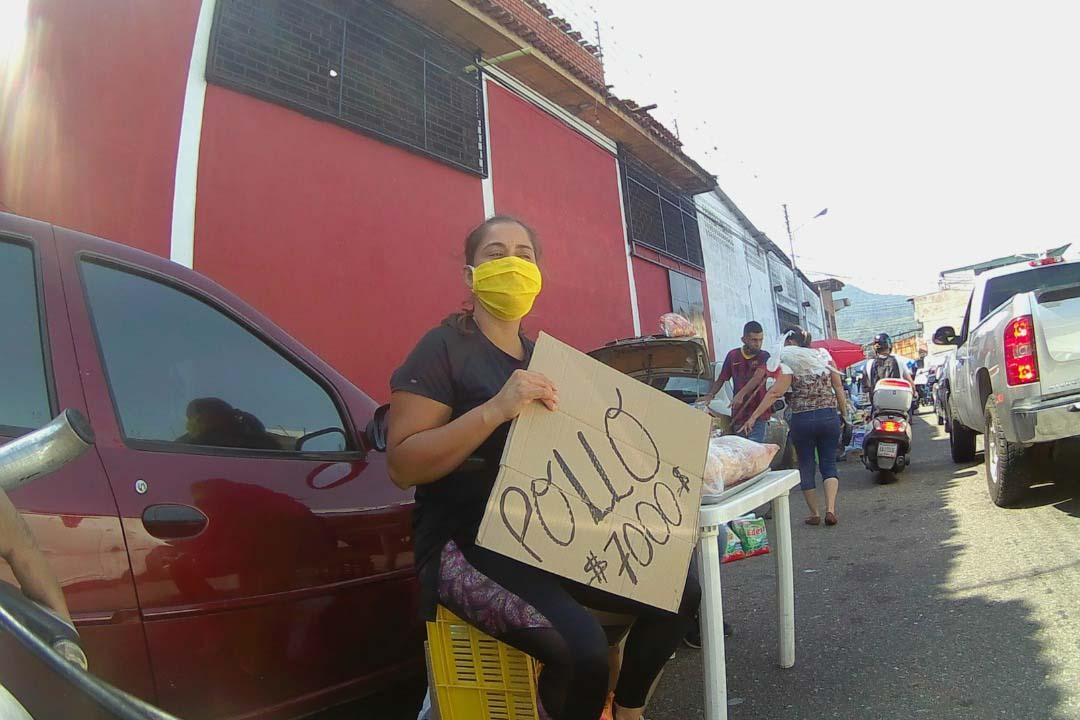 Los precios en Táchira se fijan en pesos