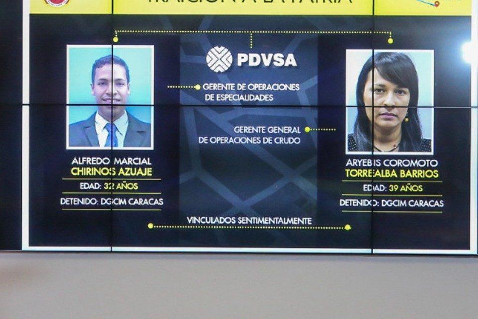 Gerentes PDVSA presos Dgcim