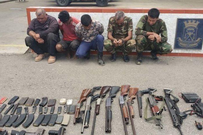 Detenidos Operación Gedeón