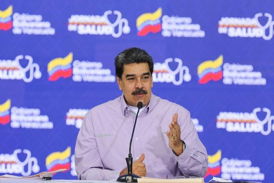 Maduro reporte de covid-19