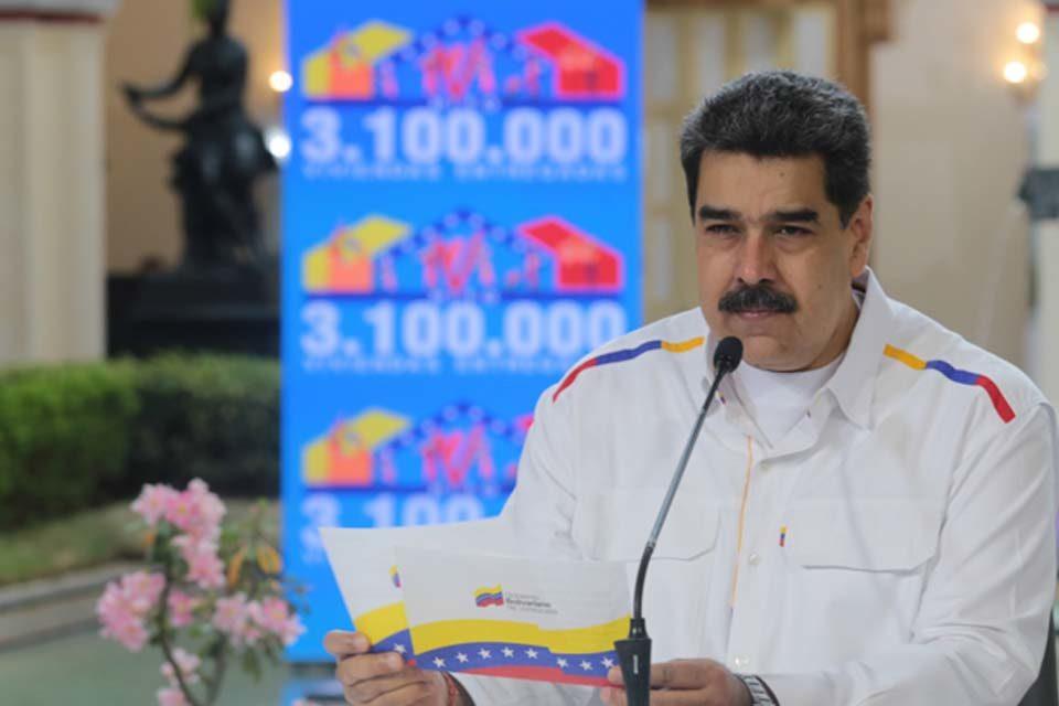 Maduro asegura que tiene contactos para comprar vacunas contra la covid-19