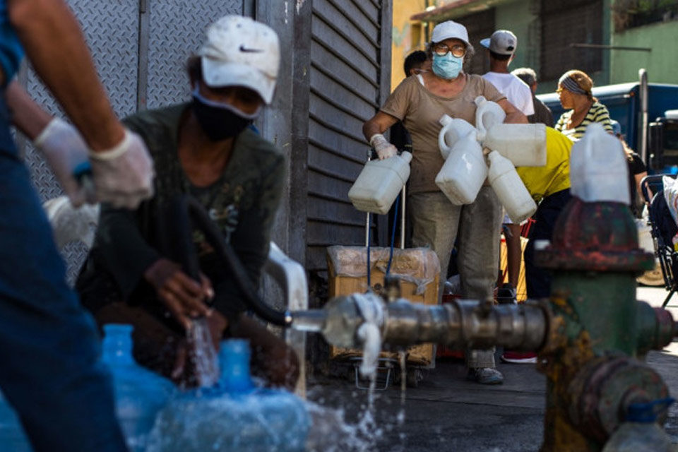 Pandemia sin agua