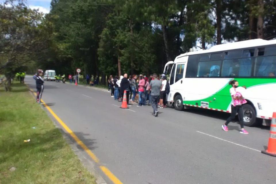 Venezolanos detenidos Migración Colombia