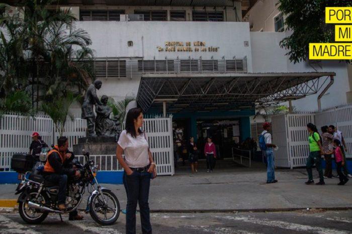 Un dólar por el carnet cobran en el Hospital de Niños