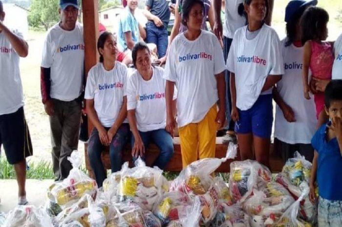 Gobierno Interino entregó 150 toneladas de ayuda humanitaria a comunidades indígenas
