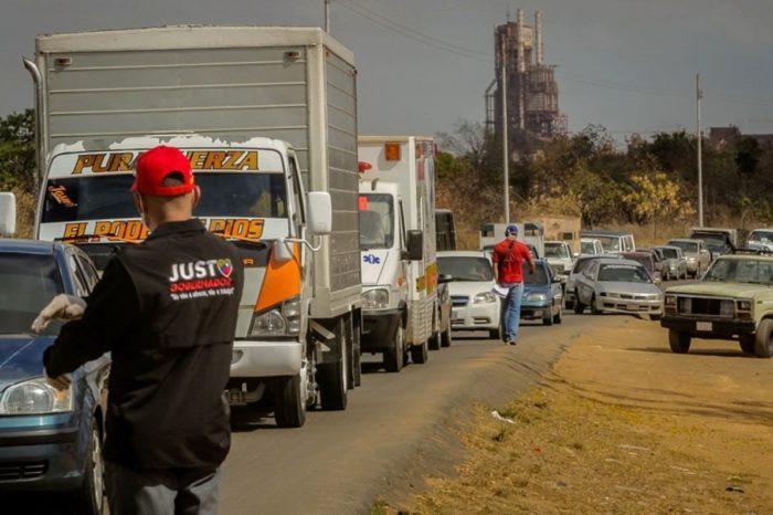 En Bolívar retorna el caos ante nuevo racionamiento de gasolina