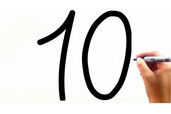 El número 10, por Gisela Ortega
