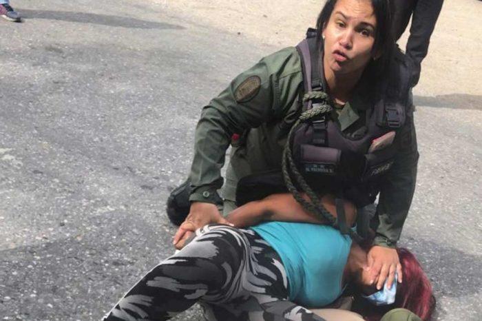 Abogada de Lara golpeada por GN continúa detenida, asegura Alfredo Ramos