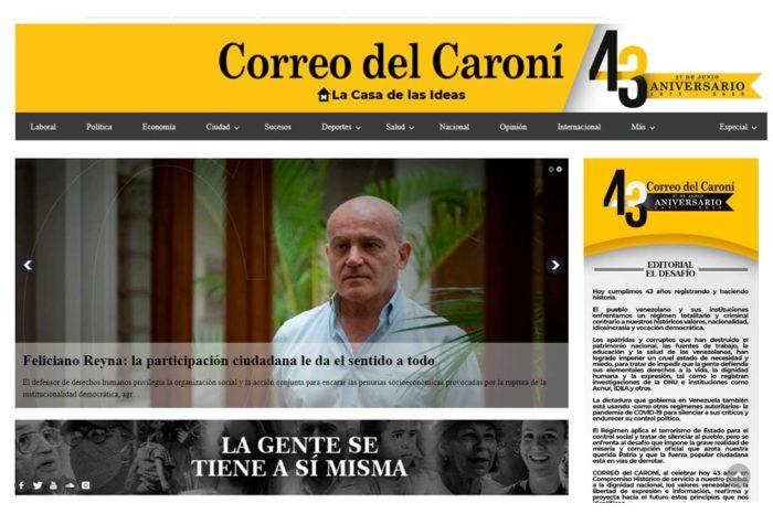 Correo del Caroní cumple 43 años a pesar del chavismo