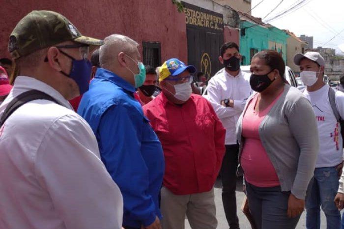 Cerco epidemiológico se aplicará en 58 sitios de 17 parroquias de Caracas