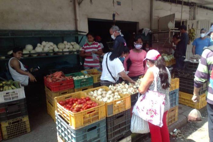 Pondrán control en los mercados a cielo abierto de San Cristóbal para evitar el covid-19